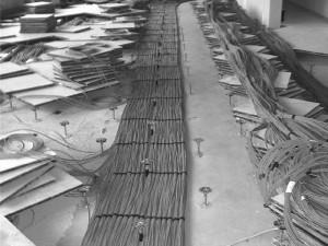Strukturierte Verkabelung in Kupfer und Glasfaser